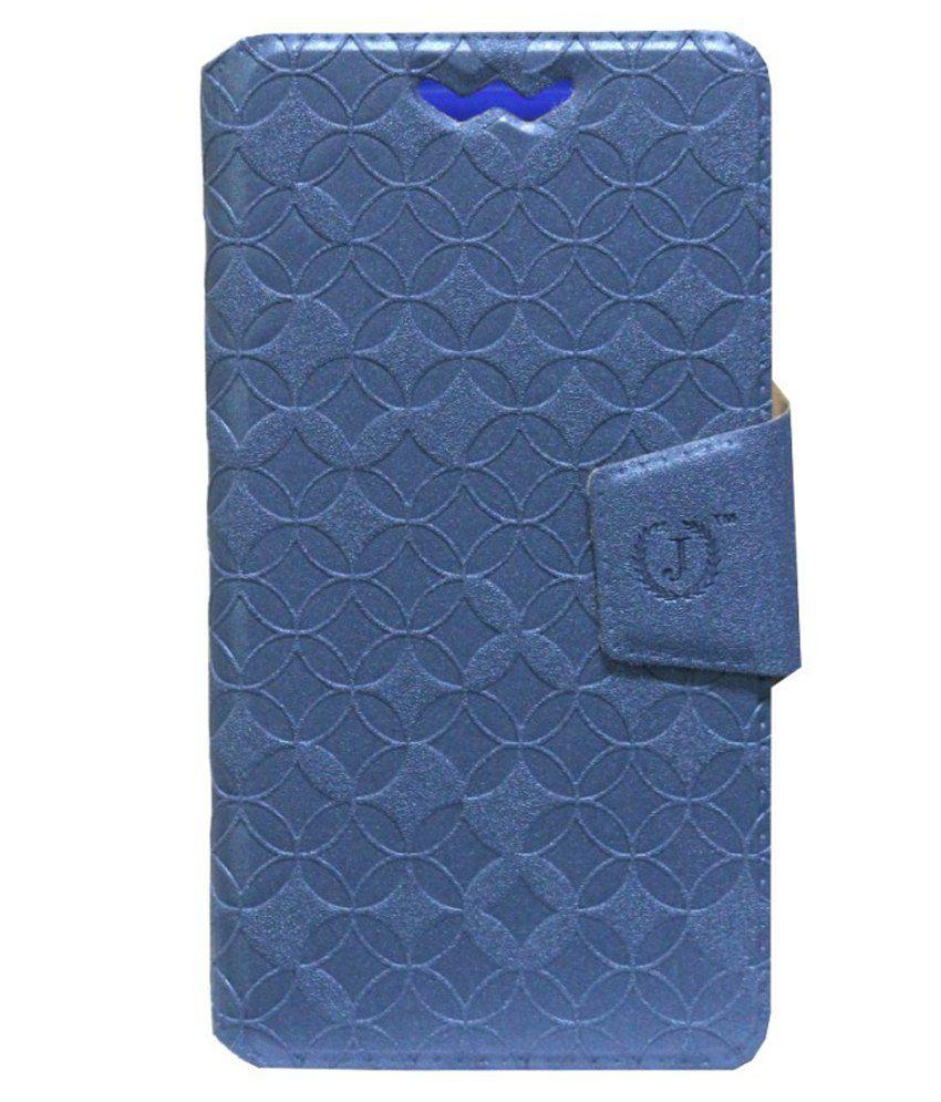 Jo Jo Flip Cover For LG Optimus 4X HD - Blue