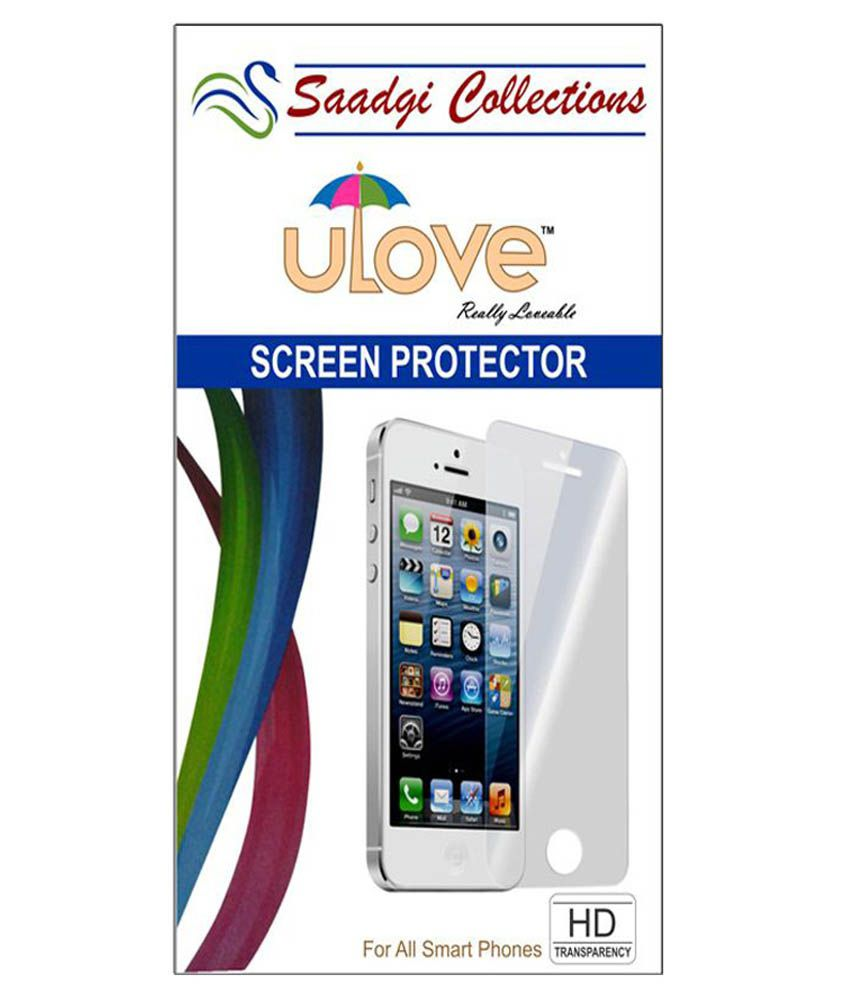 Apple Iphone 6 Front & Back - Combo Of 3 Screen Guard by Saadgi Collections