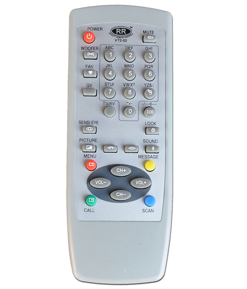 Buy Videocon Tv Remote Online At Best Price In India Snapdeal