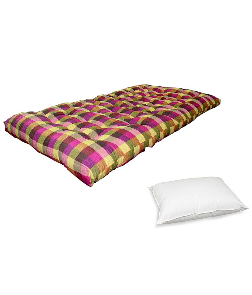 bajaj home furnishing cotton mattress buy bajaj home furnishing