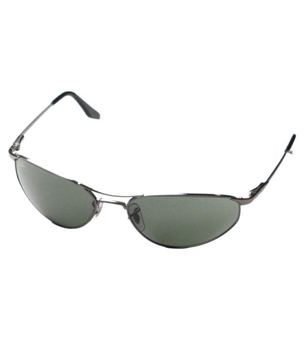 Rayban Grey Oval Sunglasses
