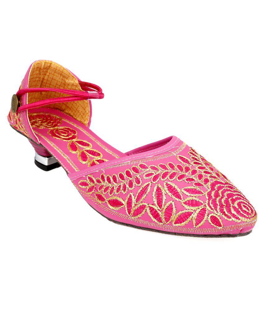 Fans Footcraft Pink Sandals