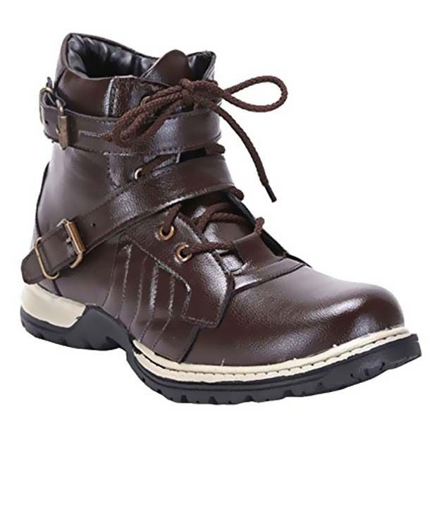 Rock Vision Brown Boots