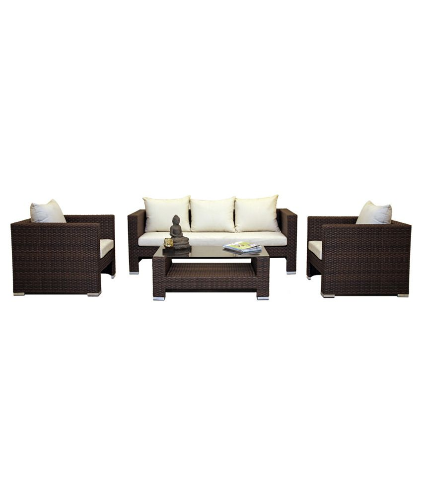 Sofa Centre Table: Torino 5 Seater Sofa Set With Centre Table (3+1+1)