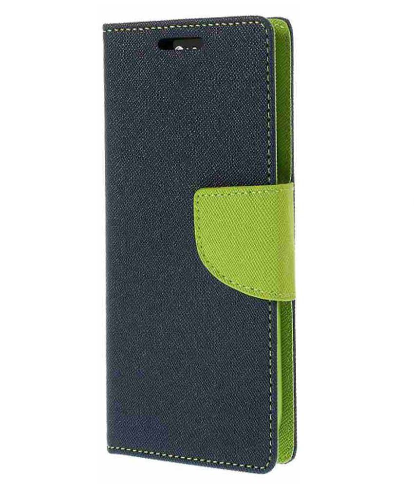 Beatess Beatz Flip Cover For HTC Desire 820 - Blue