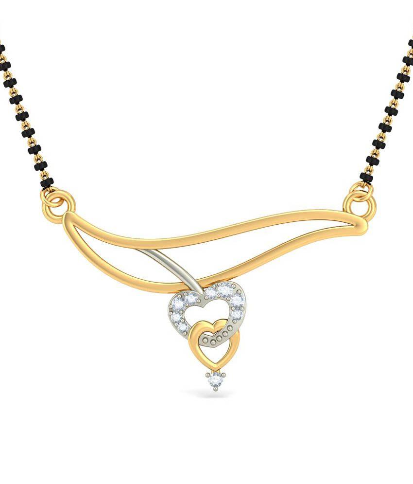 Bluestone 18kt Gold Mangalsutra Without Chain