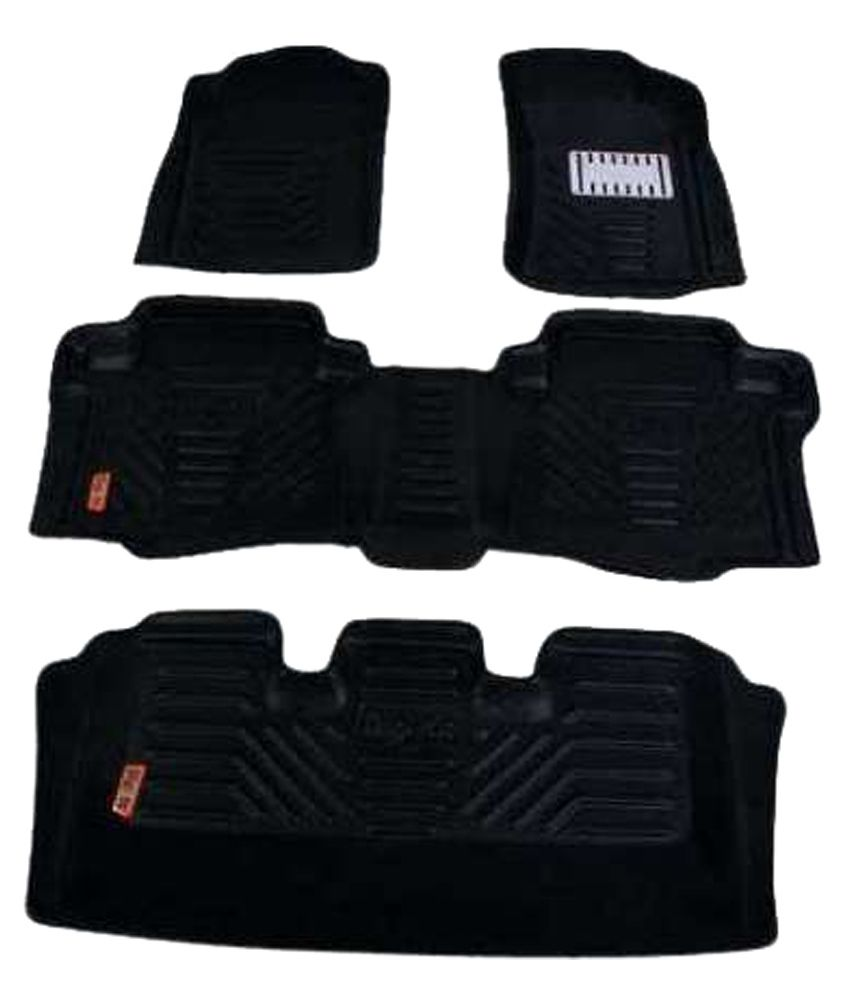 Indo Best Black Floor Mat For Maruti Ertiga Set Of 6
