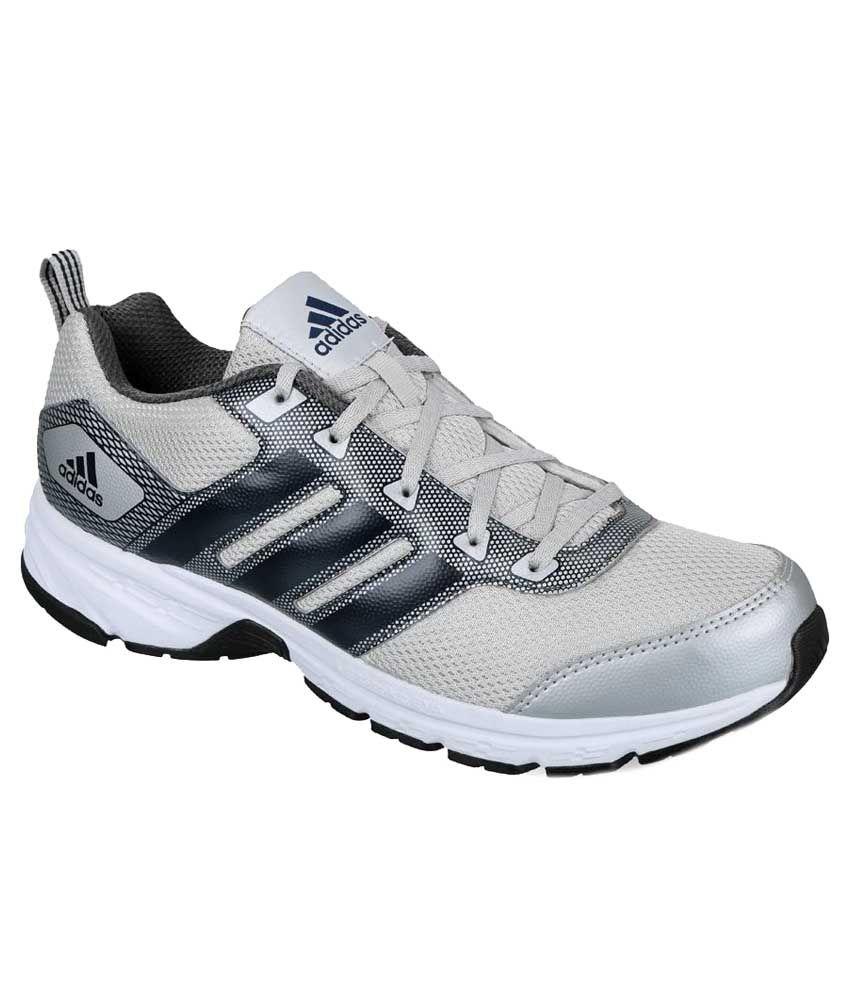Adidas Alcor m gris y blanco corriendo calzado deportivo Art adian6530