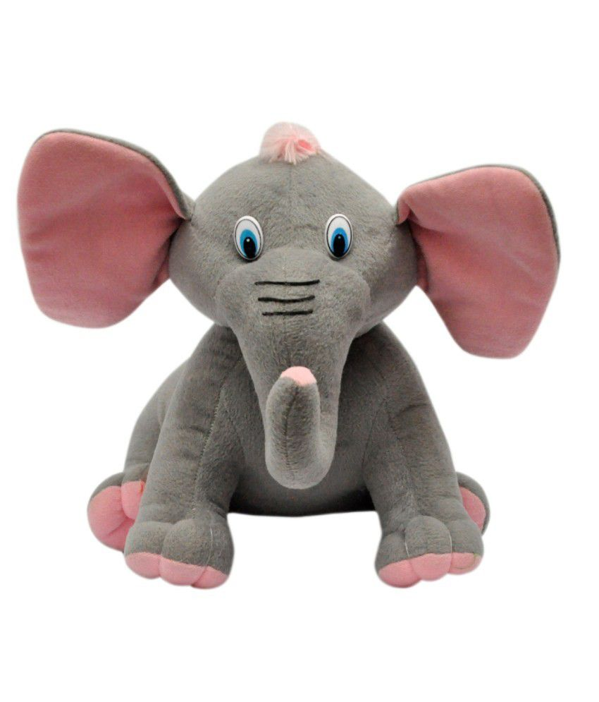 Joey Toys Grey Jumbo Elephant Stuffed Animal Buy Joey Toys Grey