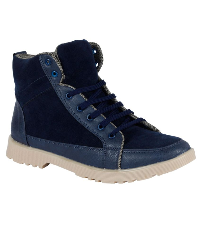 VPS Blue Lace Boots