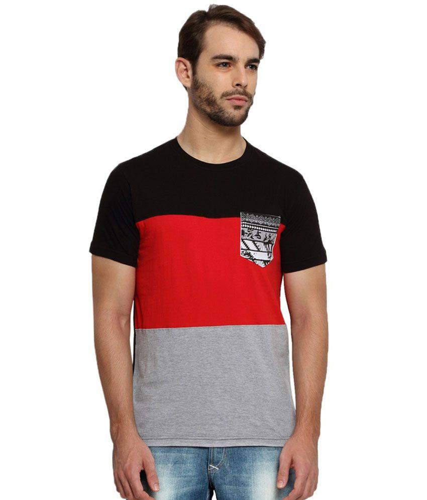 Kingaroo Solid Men's Round Neck T-Shirt