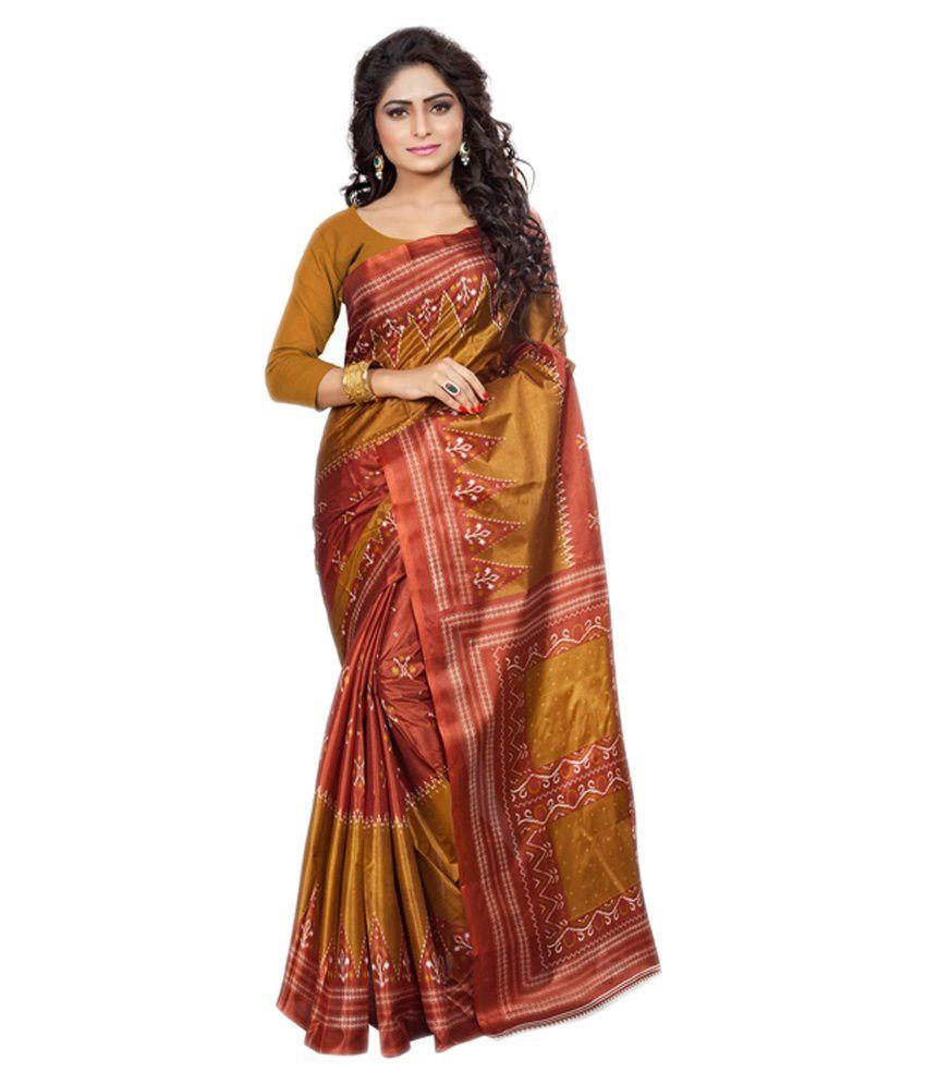 Ambaji Multi Silk Saree