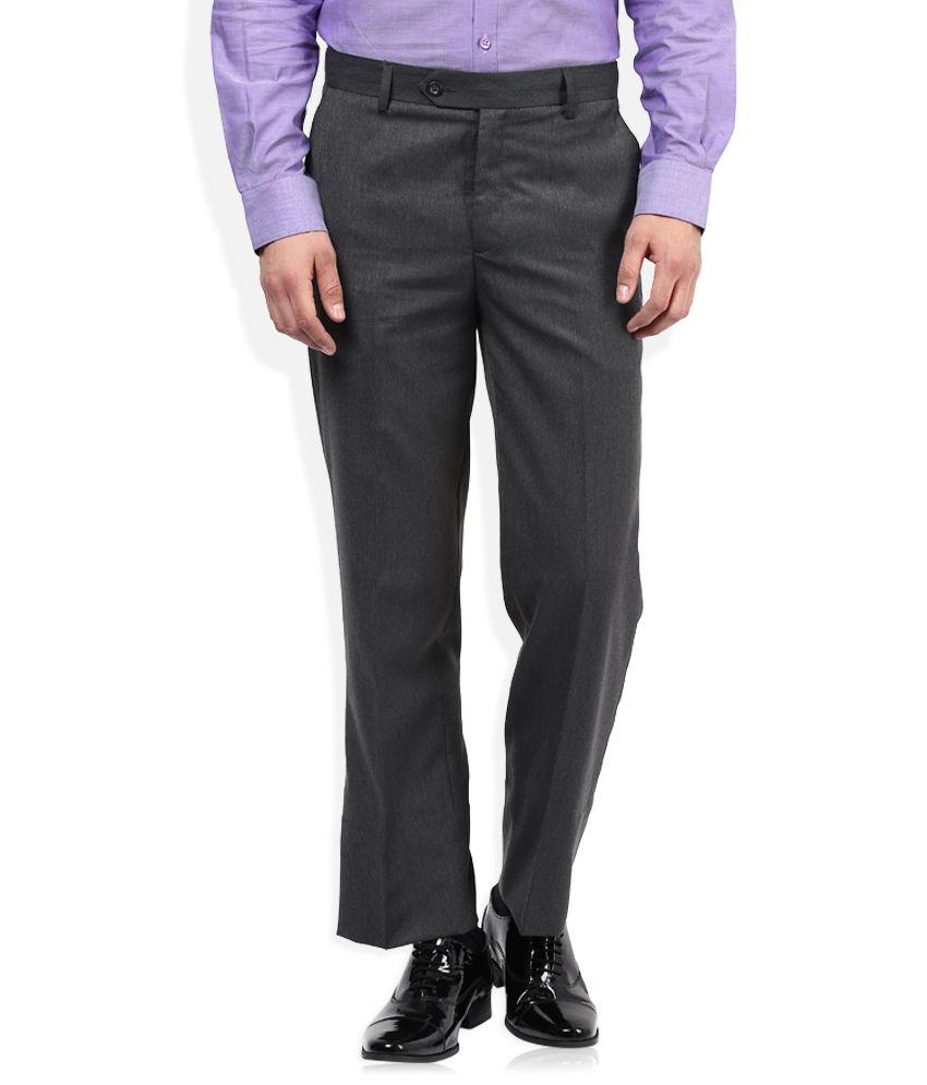 John Players Grey Formal Trouser
