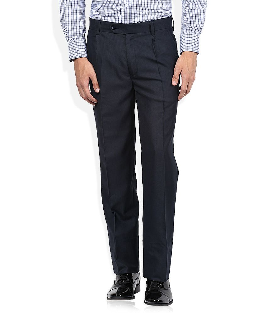 John Players Navy Formal Trouser