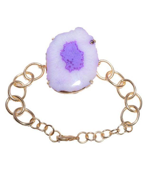 Gharaz Golden Agate Bracelet
