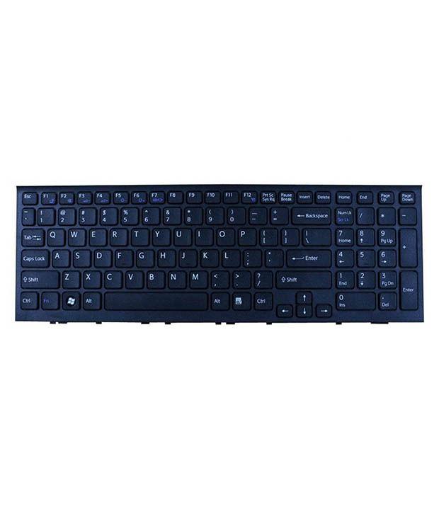 4D sony-el-series Black Wireless Replacement Laptop Keyboard Keyboard