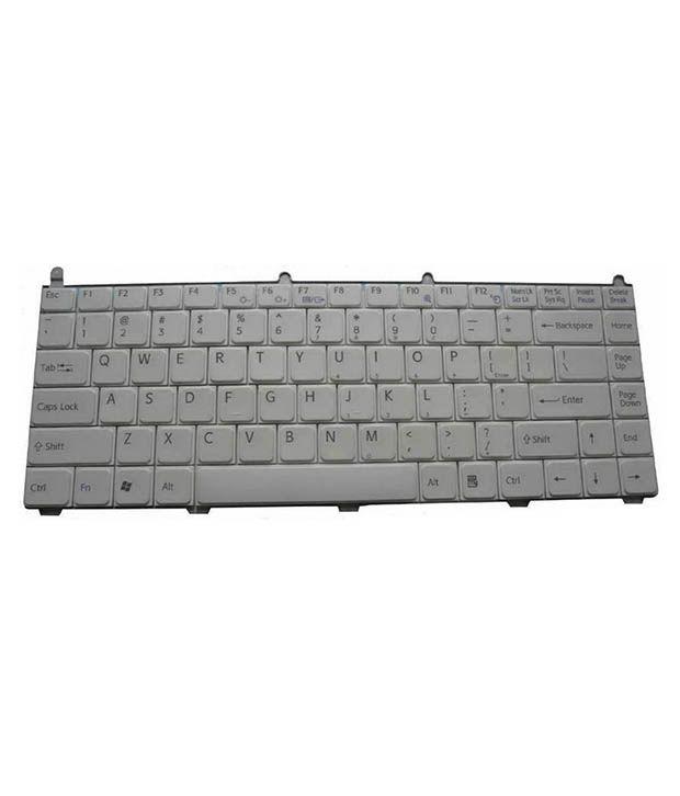 4D sony-fe series White Wireless Replacement Laptop Keyboard Keyboard