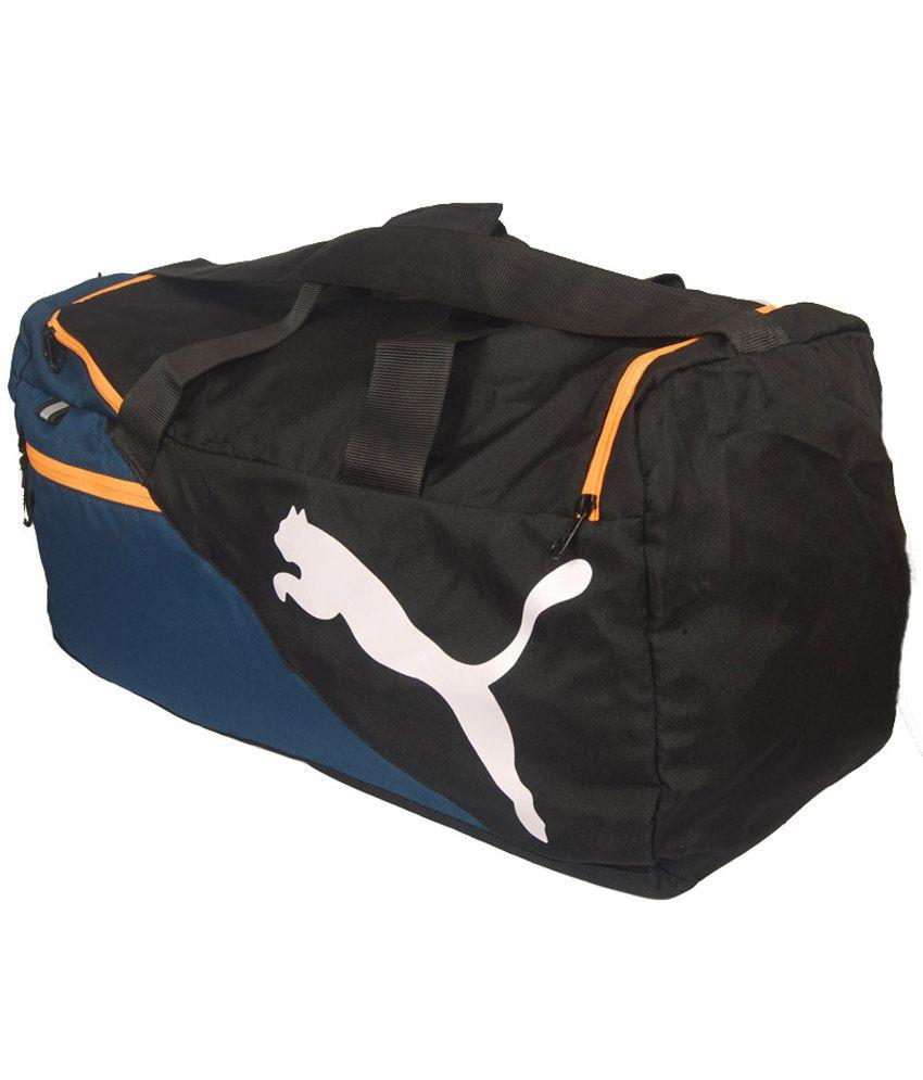 3f13f1f939e Puma Black Polyester Duffle Bag - Buy Puma Black Polyester Duffle ...