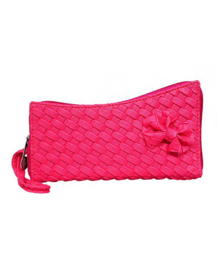 Calveen Pink Formal Wallet