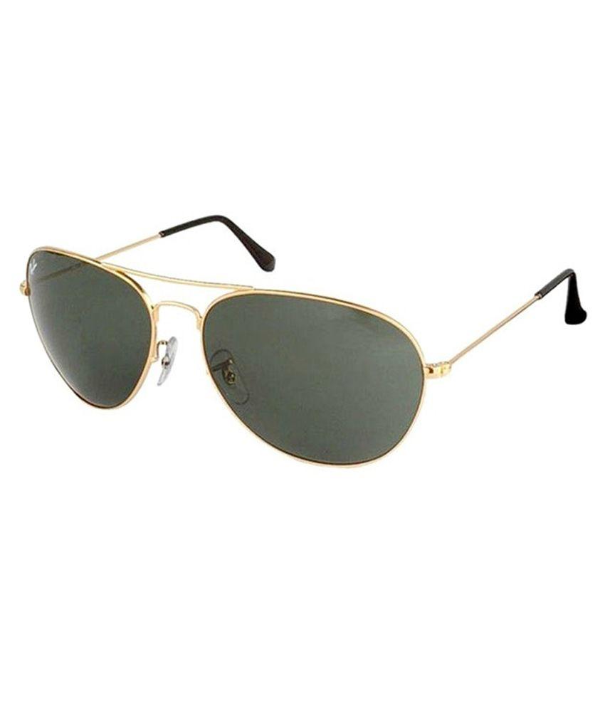 Rayban Golden Sunglasses