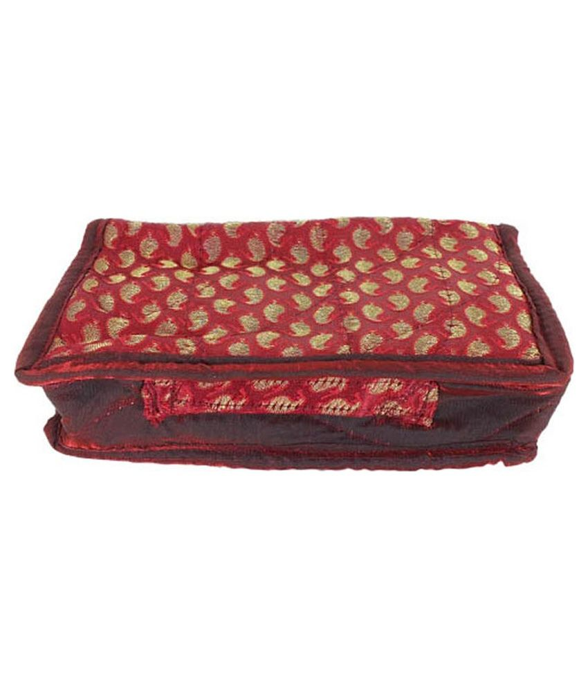 Golden Collections Multicolor Jewellery Pouch