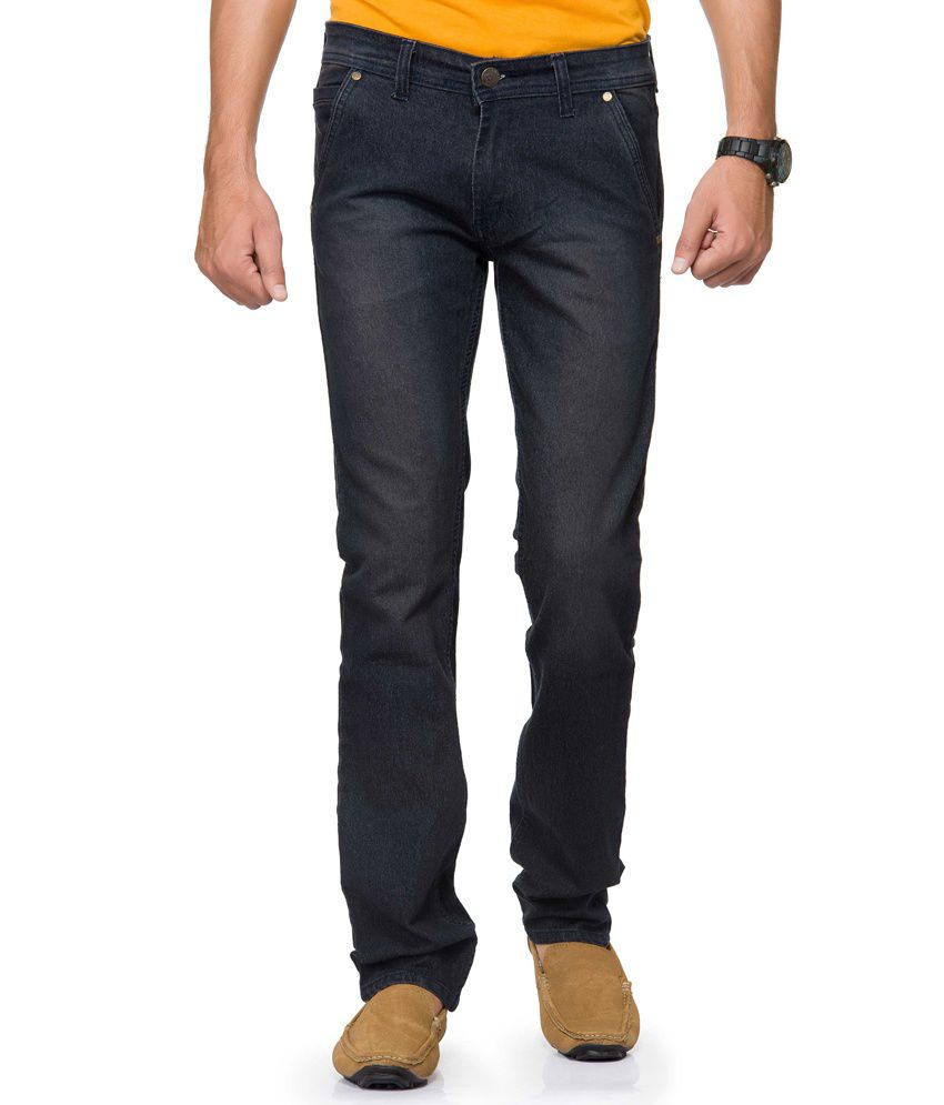 Gr8onyou Black Slim Fit Jeans