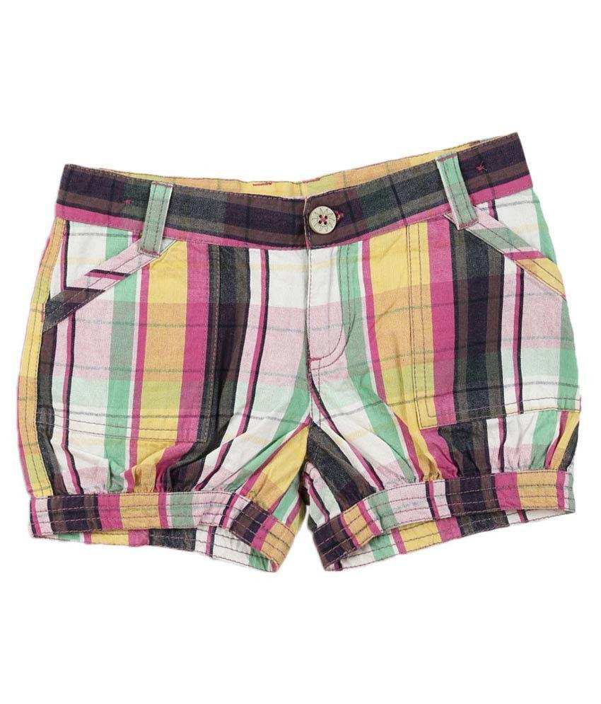 Lilliput Multi Cotton Shorts