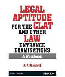 Legal Aptitude For The Clat And Other Law Entrance Examinations : A Workbook (Pb) Paperback (English) 1st Edition