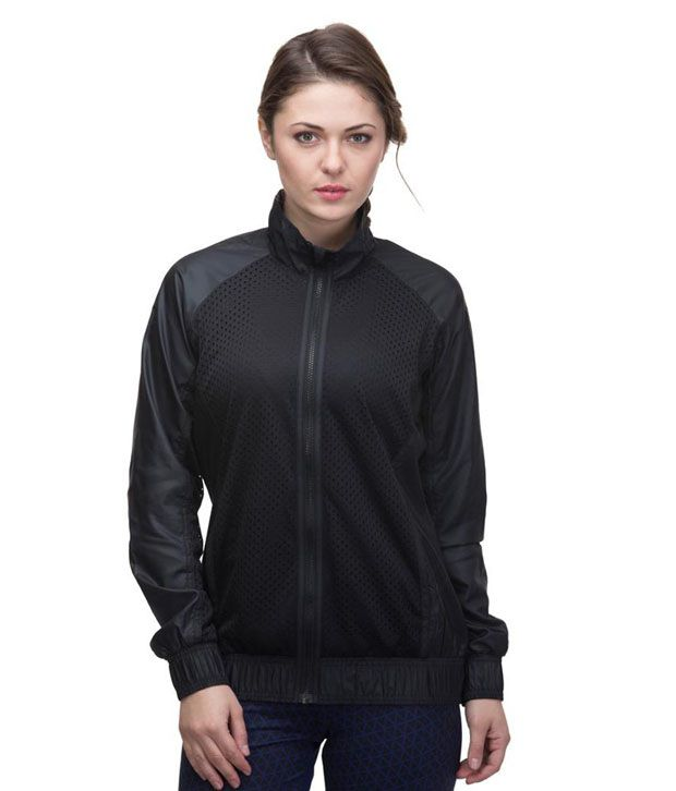 Buy Adidas Women Training Black Mesh Jacket Online at Best Prices in India  - Snapdeal fc3e21a4b1
