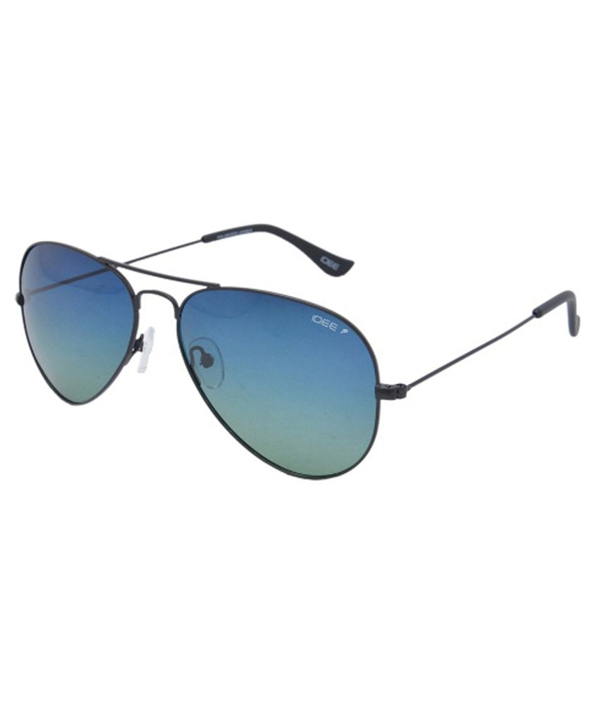 Idee Blue Lens Aviator Sunglasses