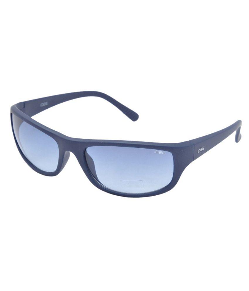 Idee Blue Lens Square Sunglasses