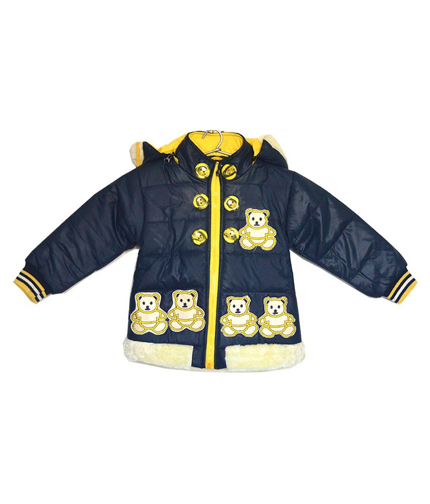 London Girl Teddy Applique Jacket for Girls