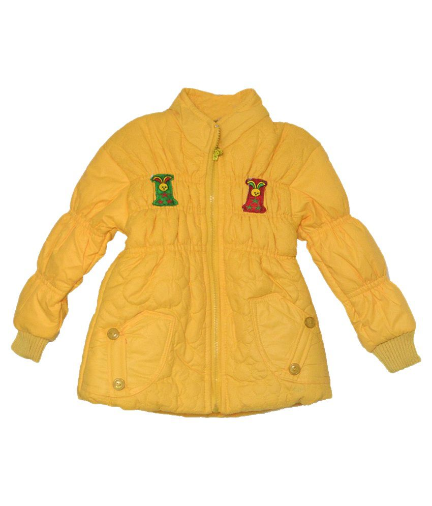 London Girl Yellow Hooded Jacket for Little Fairy