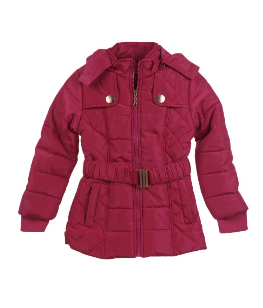 Lilliput Pink Viscose Quilted Jacket