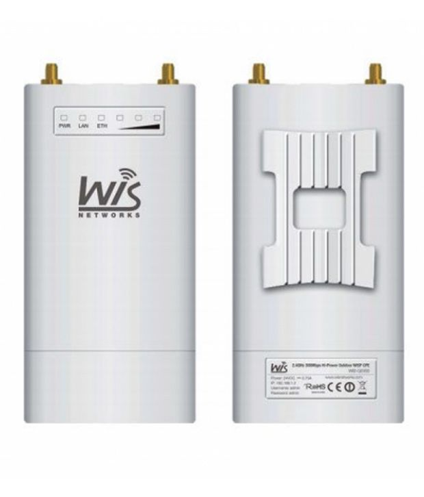 Wisnetworks WIS-S2300 WiFi Hot Spot 300 Mbps 2.4GHz TDMA Base Station Radio