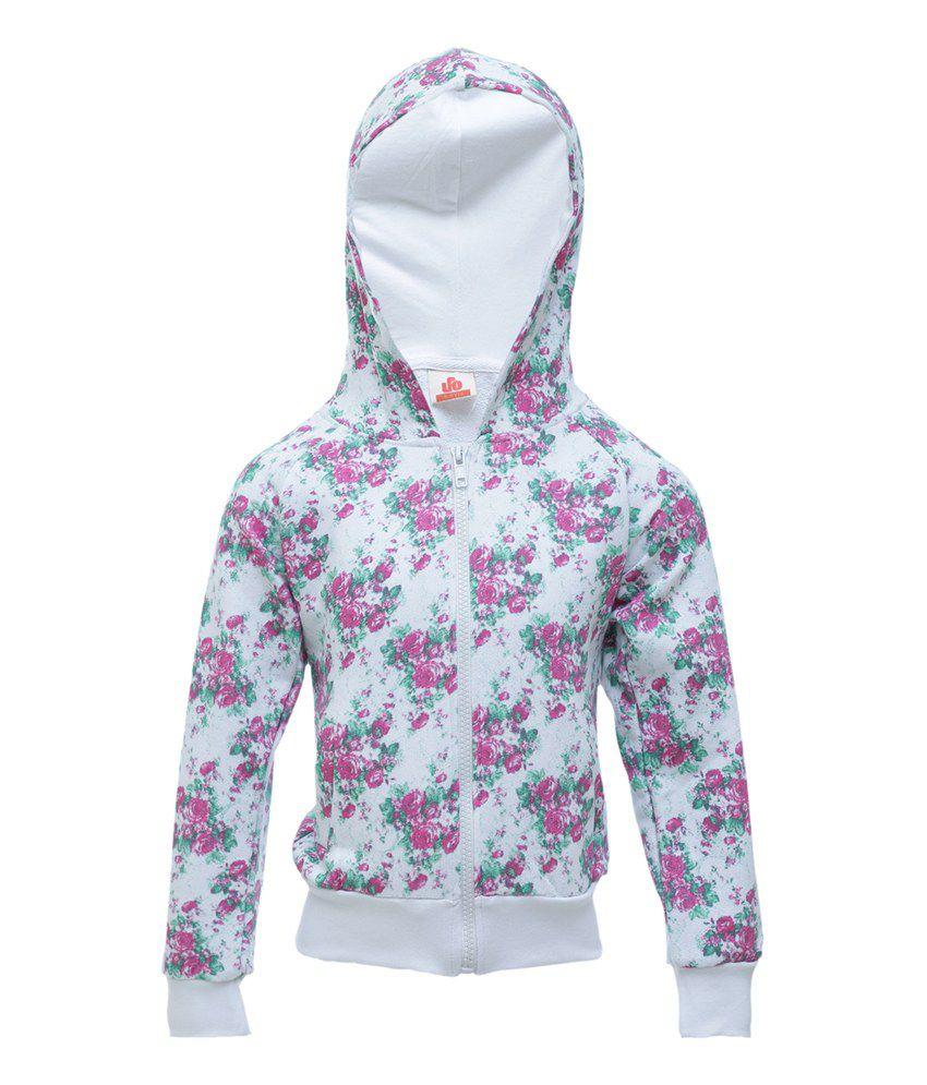UFO White Full Sleeve Jacket