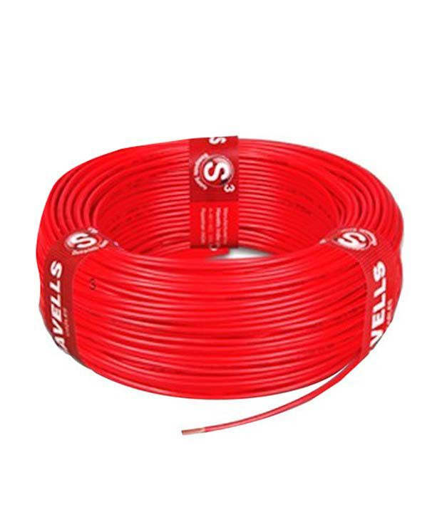 Havells Red Copper And Pvc Cable Wire