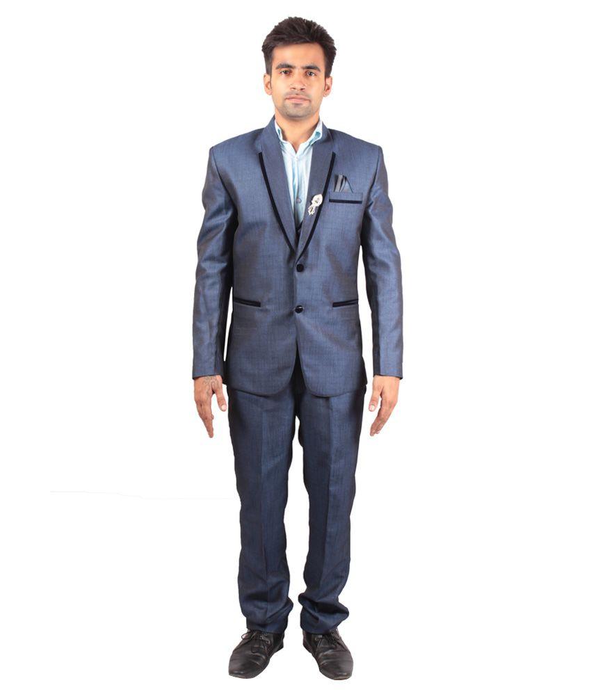 Shaurya-F Blue Festive Suit