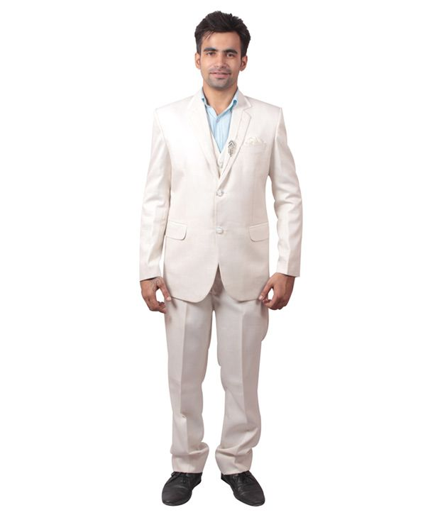 Shaurya-F Off-White Festive Suit