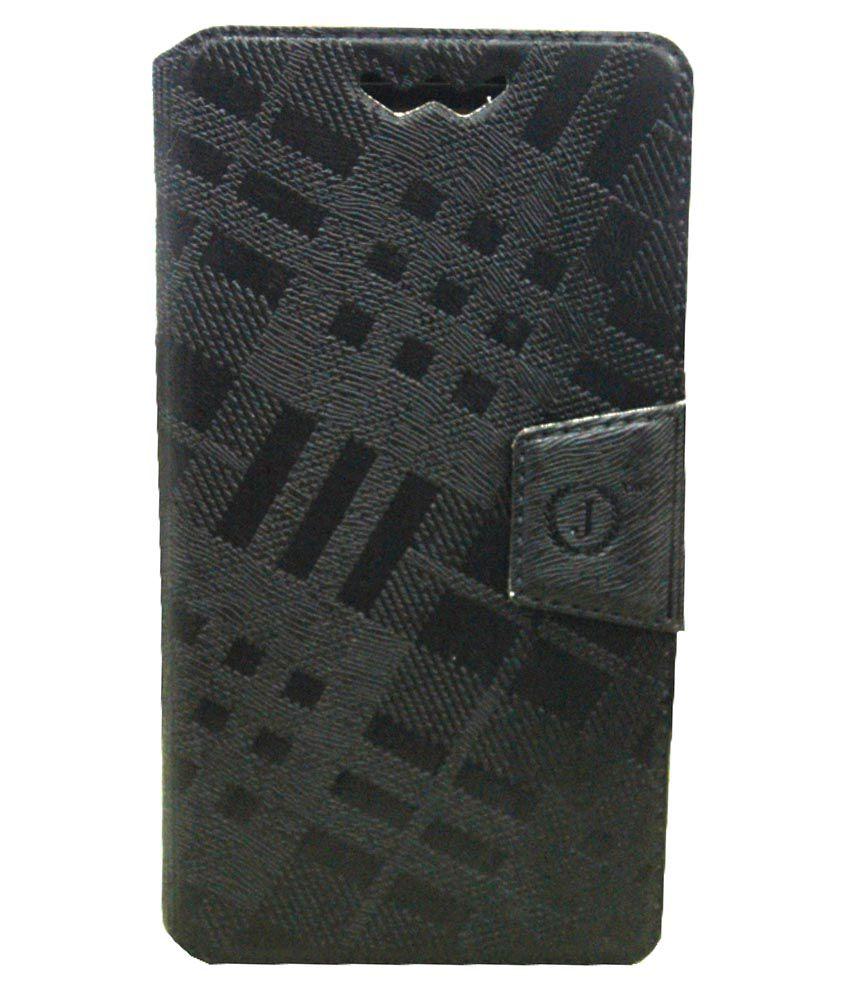Jo Jo Synthetic Flip Cover For Nokia Lumia 930 - Black