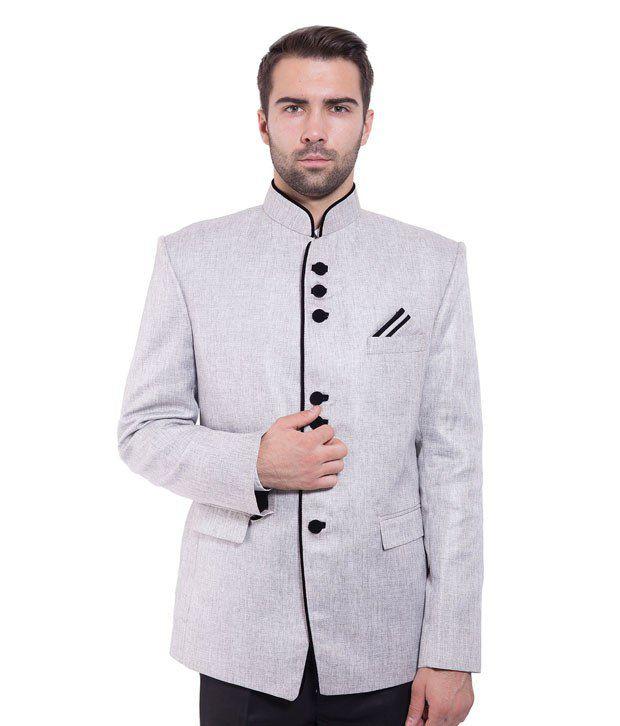 Wintage Grey Rayon Blazer