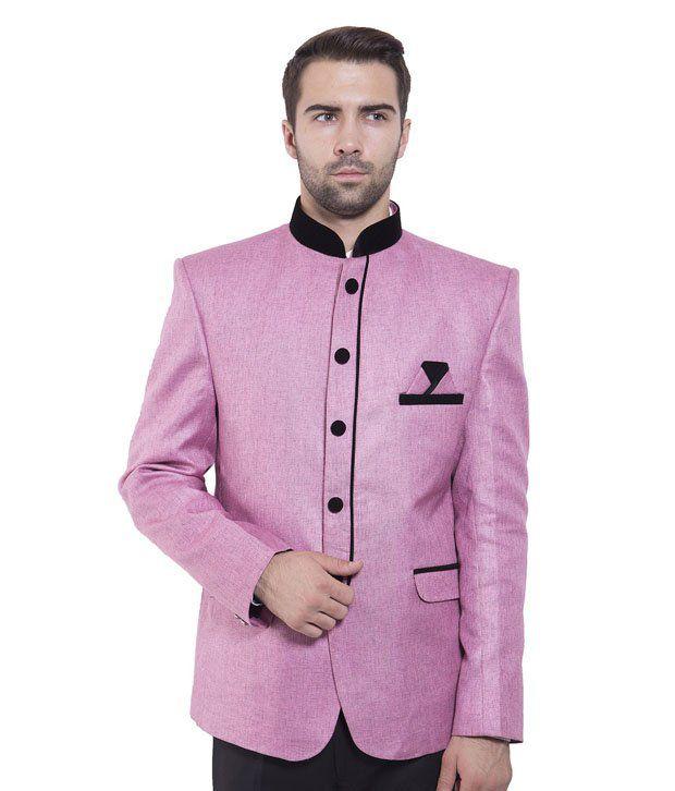 Wintage Pink Rayon Blazer