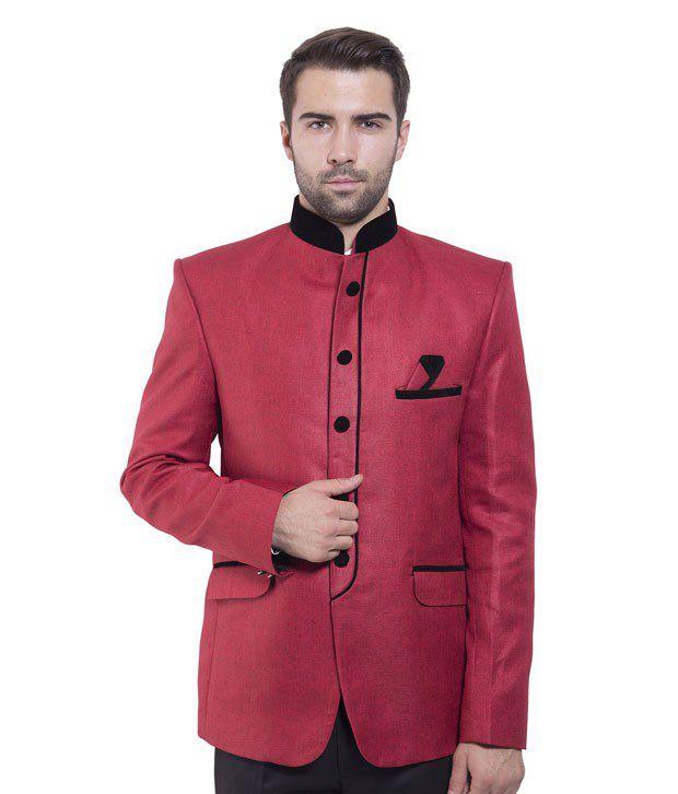 Wintage Red Rayon Blazer