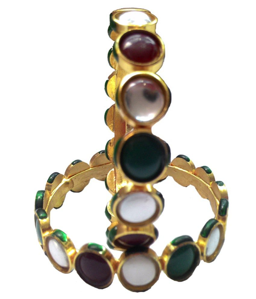 Arihant Shri Collection Multicolour Alloy Bangle