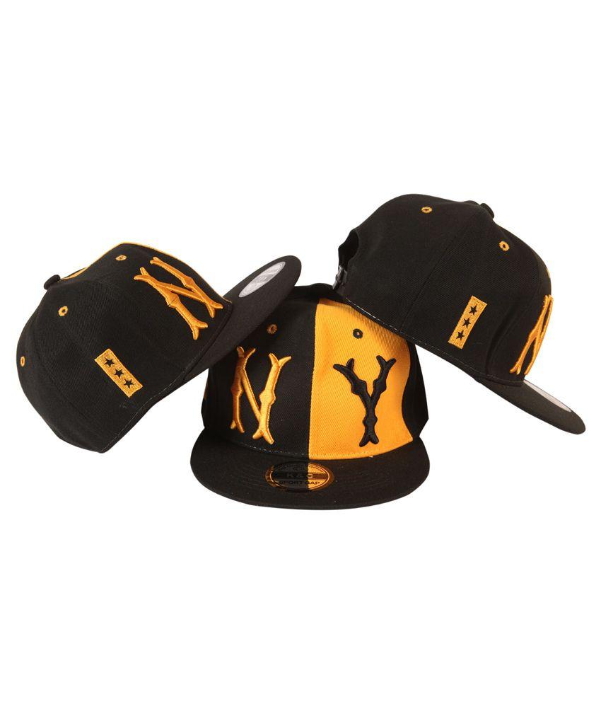 86dbf466739 ILU 3D NY Snapback Caps - Buy Online   Rs.