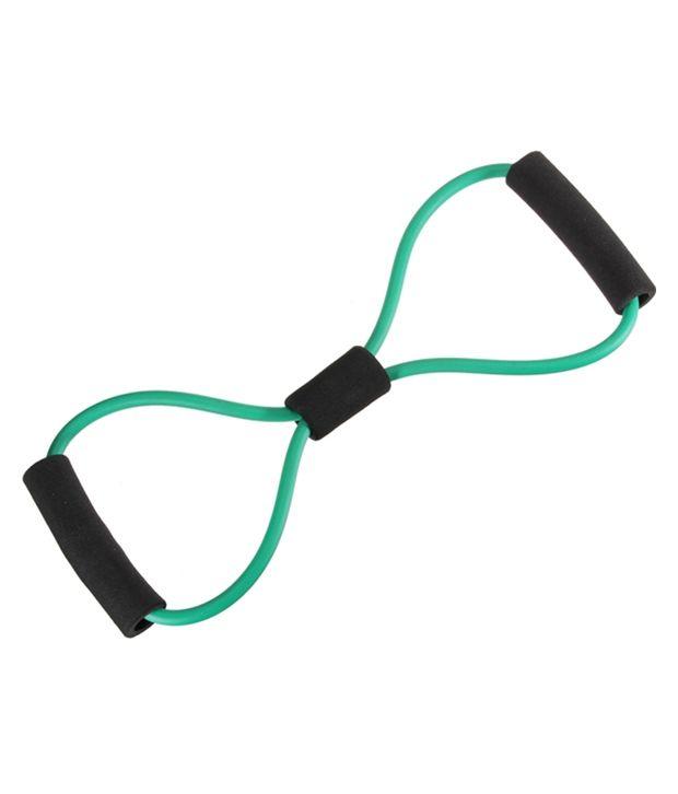 Anson Sports 8 Type Resistance Band Exercise Tube Yoga Pull Up