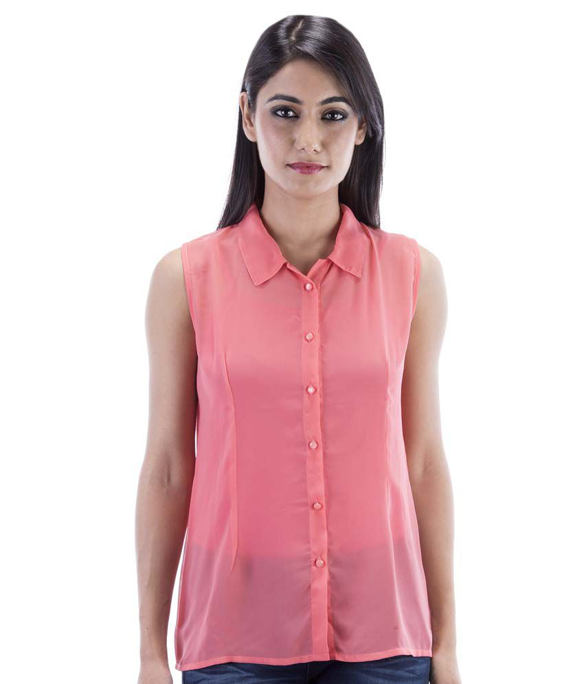 bb9c53a92cca41 Amadore Pink Georgette Tops - Buy Amadore Pink Georgette Tops Online at Best  Prices in India on Snapdeal