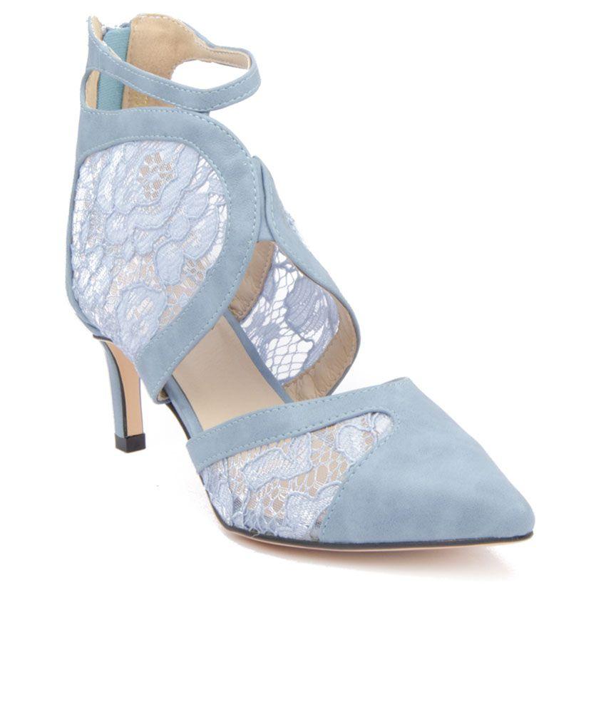 AAndS Blue Stilettos Heels Price in India- Buy AAndS Blue ... Aands