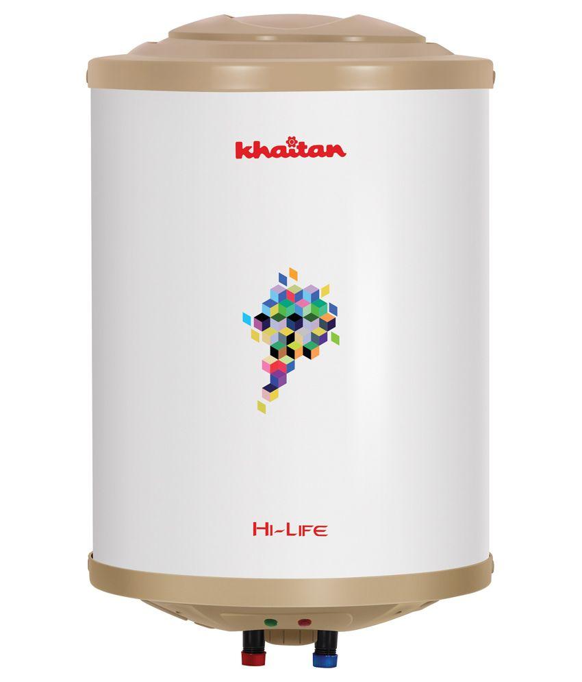Khaitan Hi-Life 5S 15 Litres Storage Water Geyser