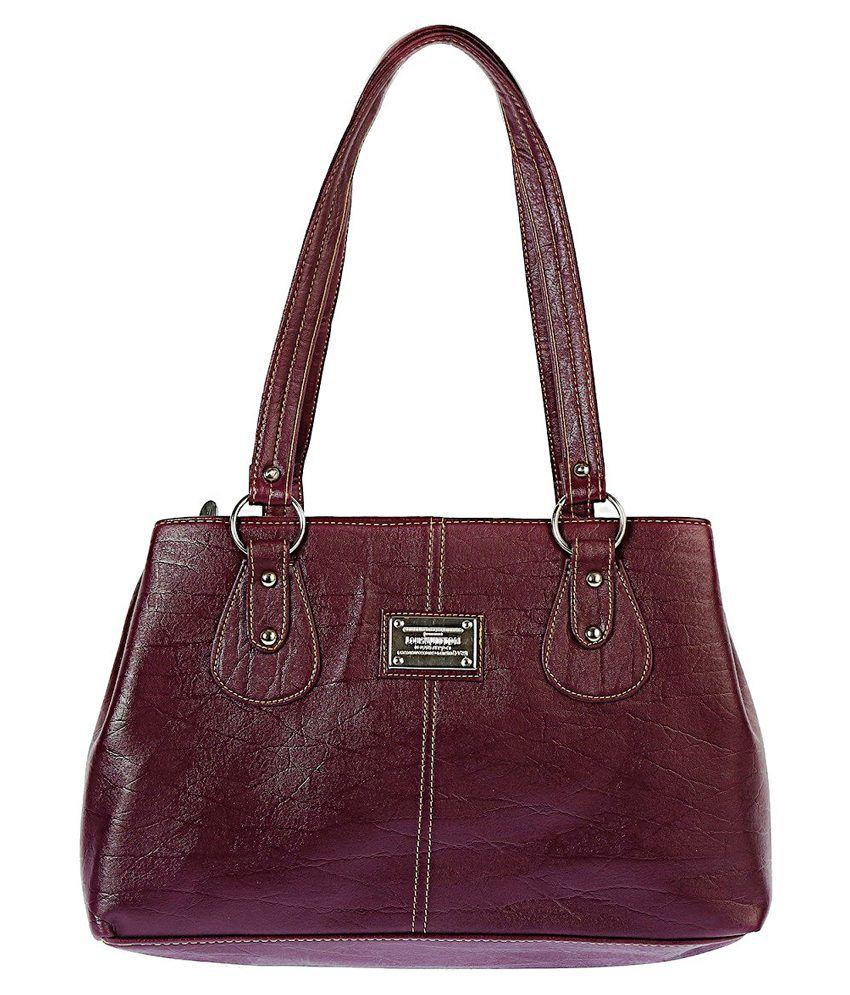 Estoss Purple Shoulder Bag